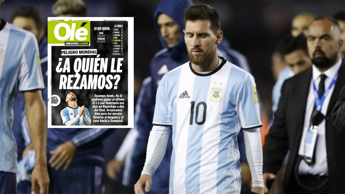 Argentinean Press Attacks Messi Once Again As Com