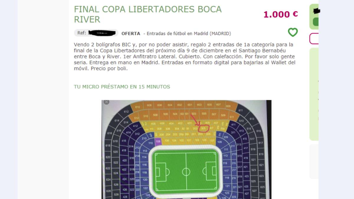 River Boca Tickets Real Madrid Fans Re Selling Seats For 800 As Com