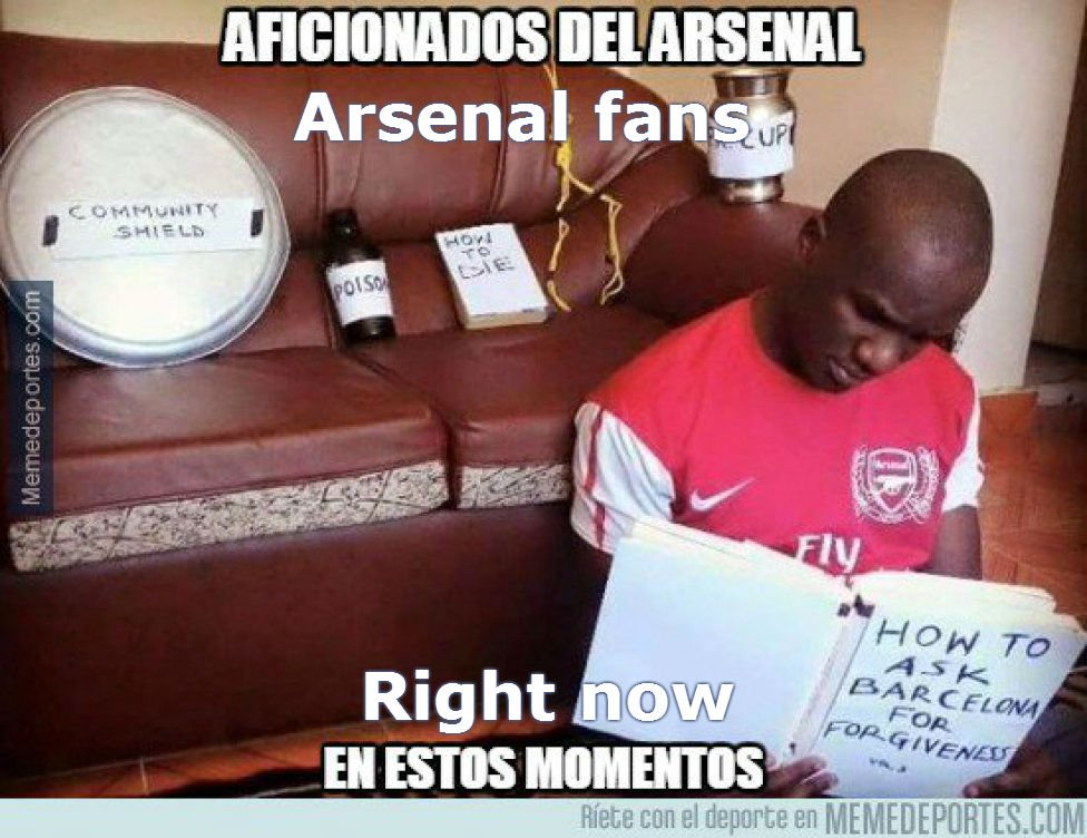 Memes The Funniest Memes From Barca V Arsenal And Bayern V Juventus As Com
