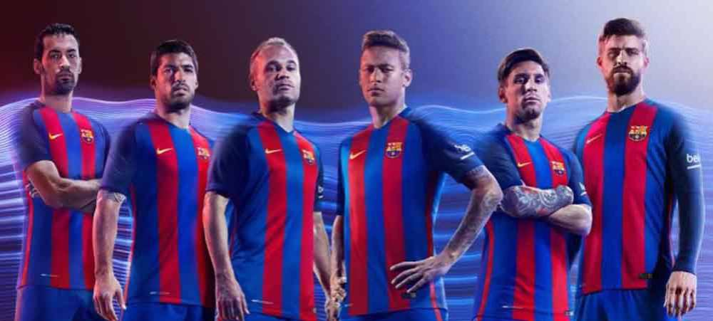 official photos 9248b 014bb LaLiga | A look at Barcelona's home jersey ahead of 2016-17 ...