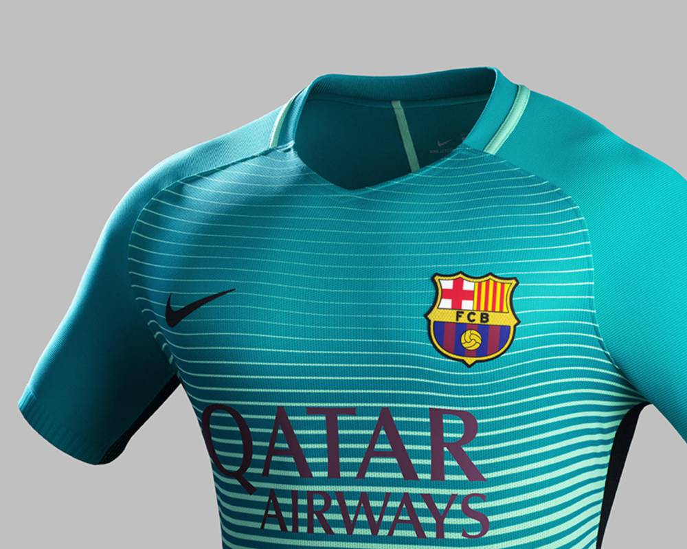 hot sale online f7af2 bfa98 Barcelona unveil their sustainable third strip - AS.com
