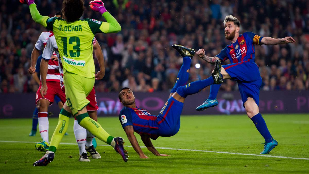 Barcelona Granada Laliga Match Report Goal Action As Com