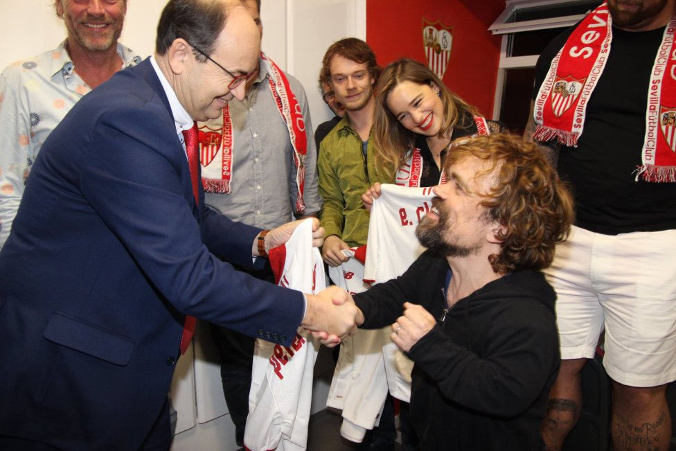 Sevilla host the Game Of Thrones cast in photos - AS com