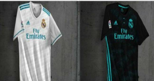 online store 71e5a 2b19c Are these the Real Madrid shirts for the 2017/18 season ...