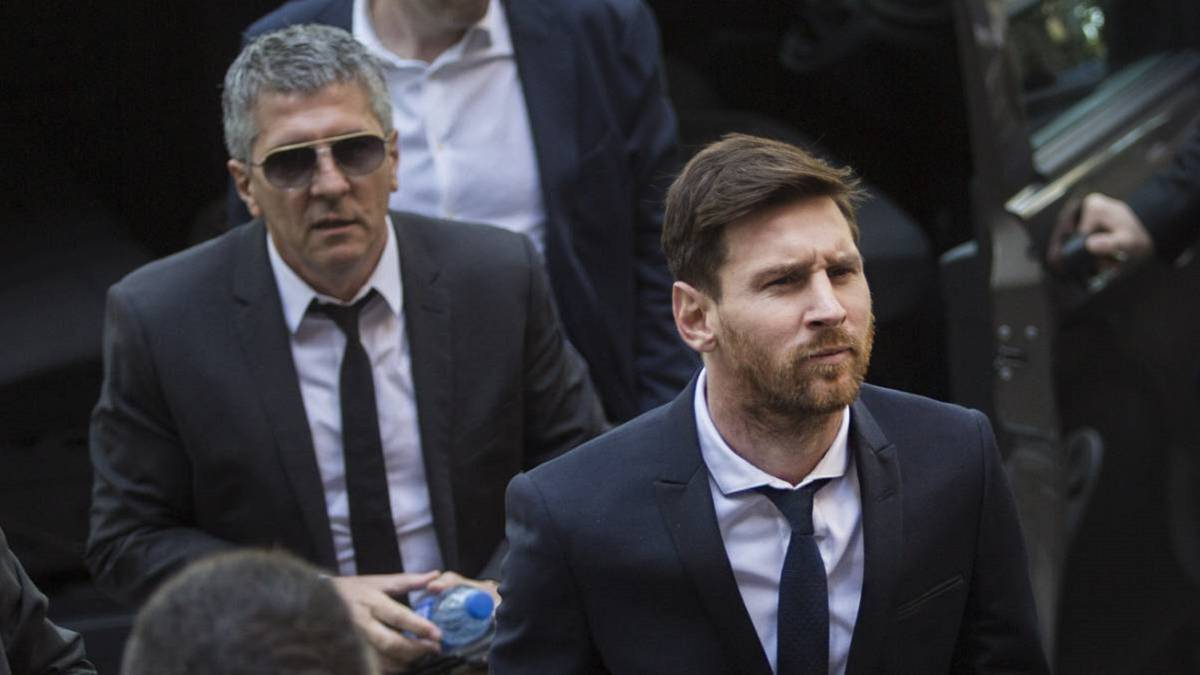 Messi Sr: There's no danger of Lionel leaving Barcelona - AS.com