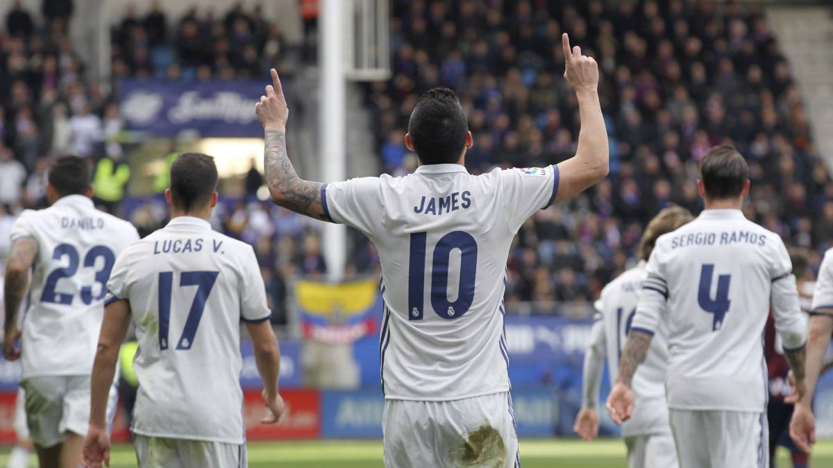 82118a6d Eibar - Real Madrid live online: Madrid go top of LaLiga as it stands, as  it happened, goals