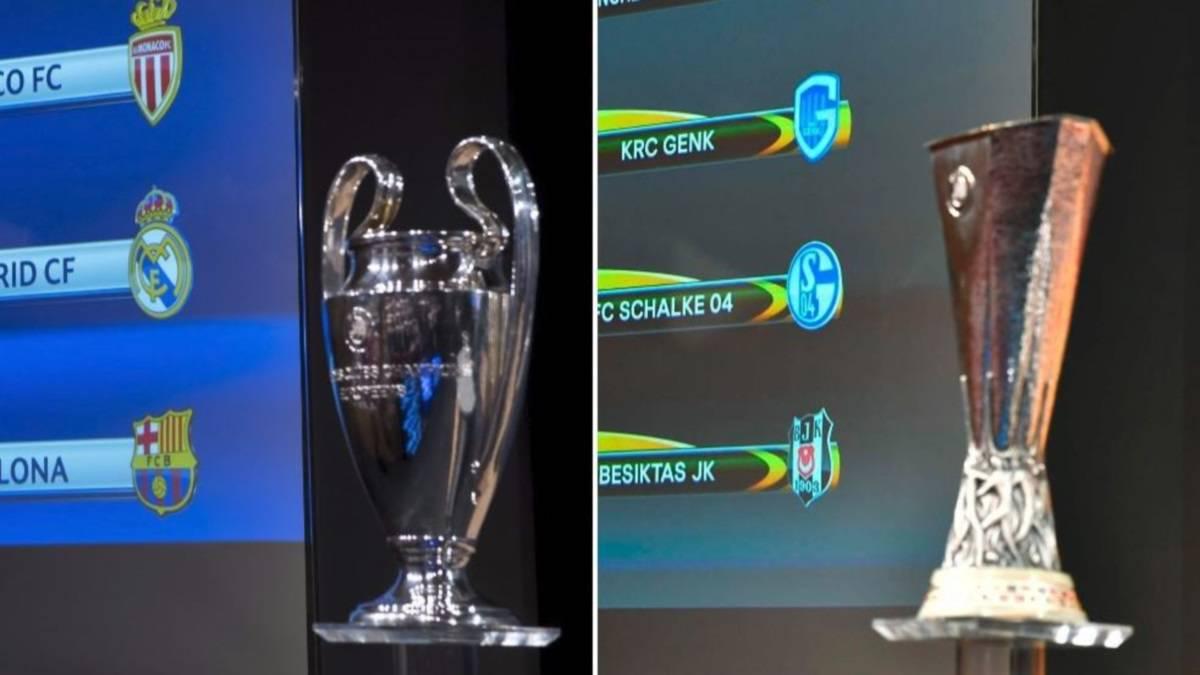 Champions League And Europa League Quarter Final Draws As