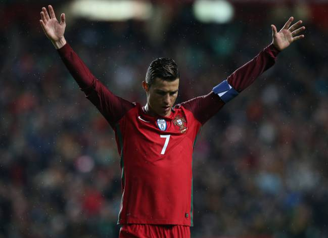Ronaldo becomes 4th European to score 70 goals for his