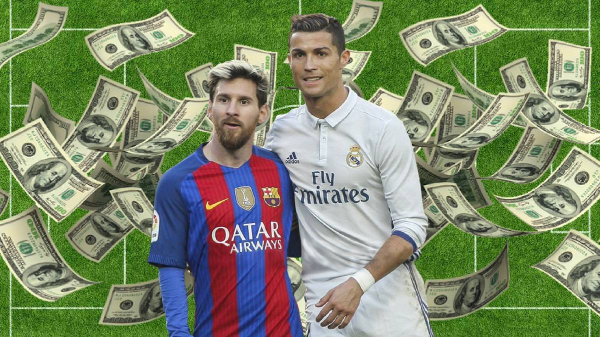 Cristiano Ronaldo tops Lionel Messi in 2016/17 earnings - AS com