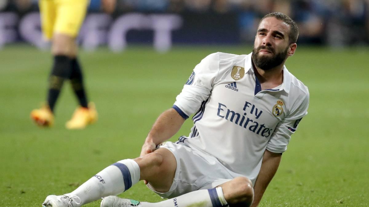 Real Madrid: Dani Carvajal hamstring injury confirmed - AS.com
