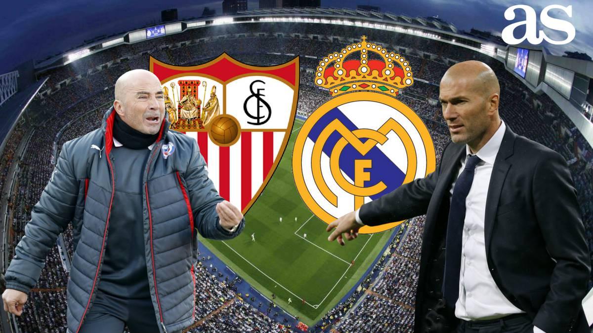 Real Madrid Vs Sevilla 2016 2017 Laliga How And Where To Watch