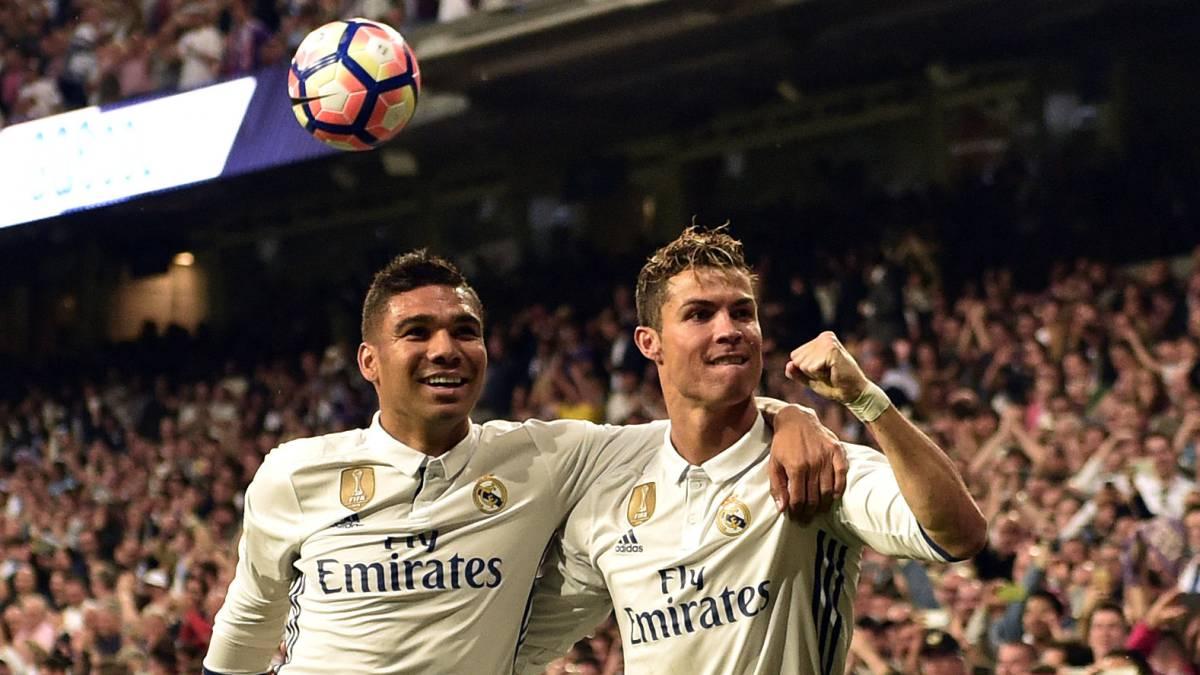 Real Madrid 4 1 Sevilla Laliga 2017 Match Report As Ronaldo