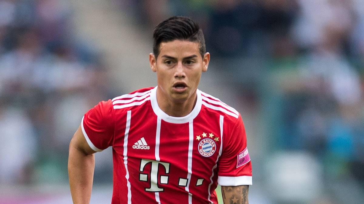 Bundesliga James Rodriguez Makes Debut As Bayern Bag Telekom Cup As Com