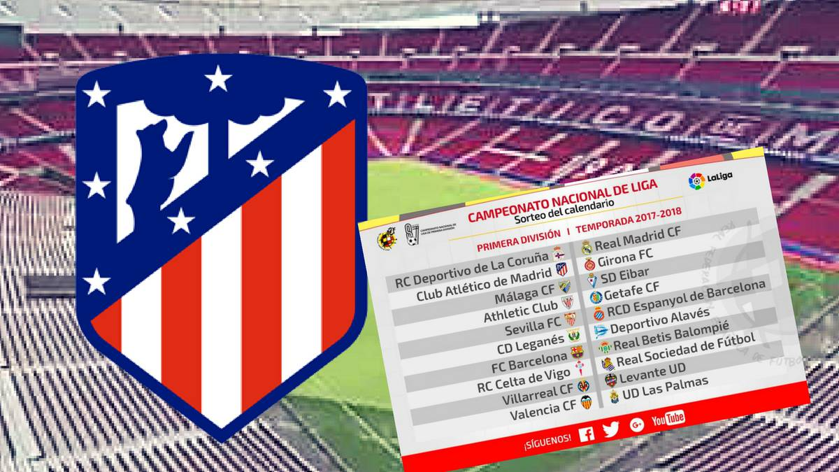 Calendario Liga Primera Division.Atletico Madrid First Game At Wanda Metropolitano Vs Malaga As Com