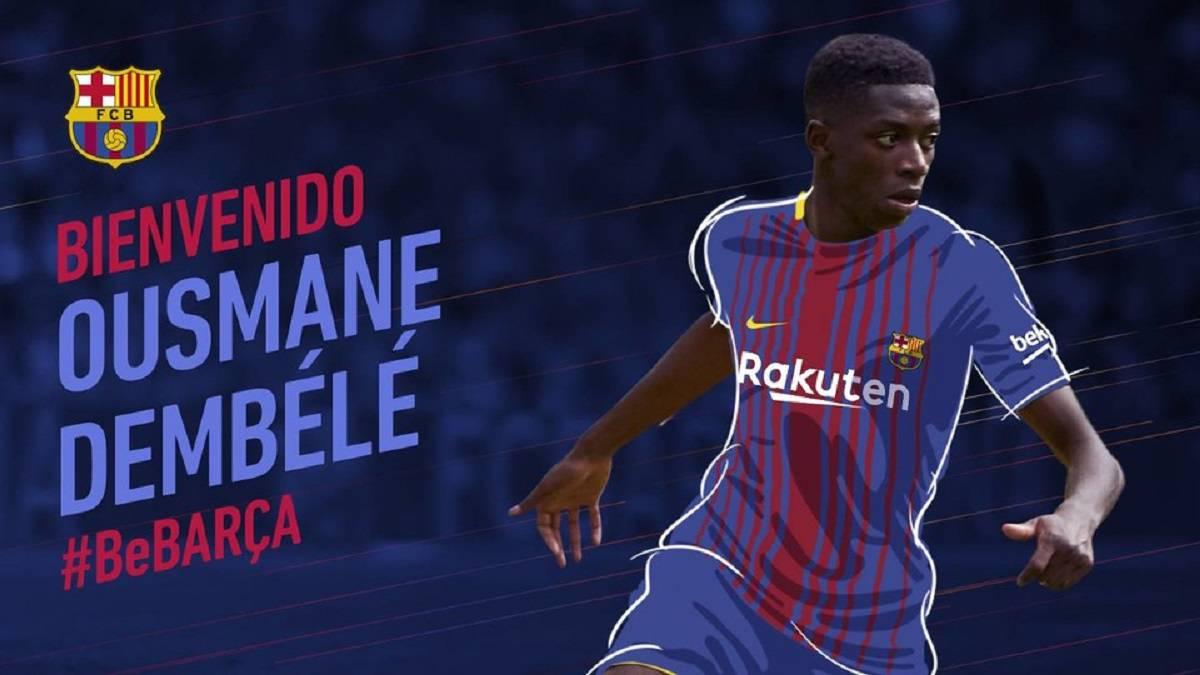 size 40 86b0f fd52e Dembélé: Barcelona deal for Dortmund winger confirmed - AS.com