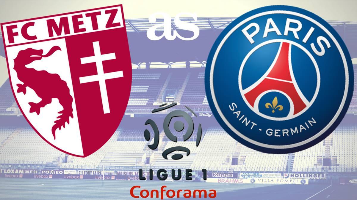 Metz vs PSG Full Match – Ligue 1 2020/21
