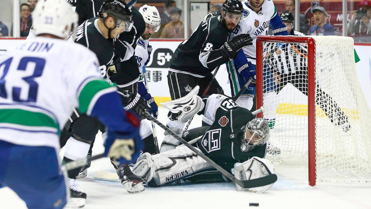 La Kings Win First Nhl Pre Season Game In China As Com