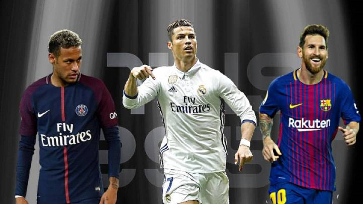 quality design 3654e fee13 Ronaldo, Messi and Neymar named as FIFA The Best finalists ...