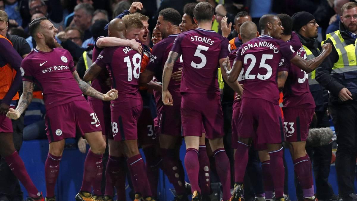 competitive price 2988c f2556 Premier League Chelsea 0 - 1 Manchester City: match report ...
