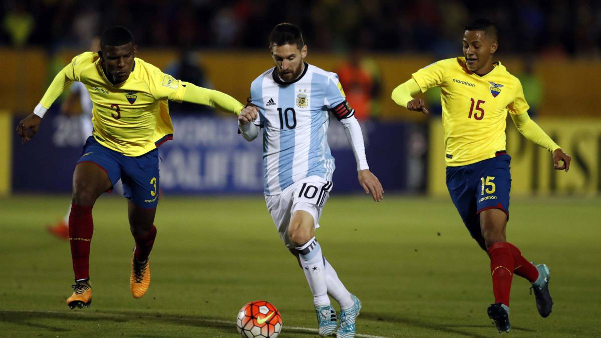 Ecuador players suspended for partying before Argentina