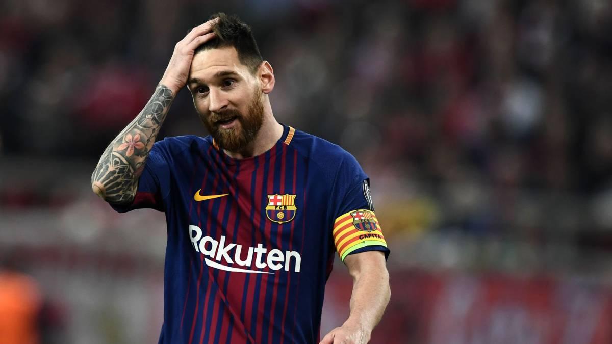 Barcelona Lionel Messi Reaches 600 Games As Com