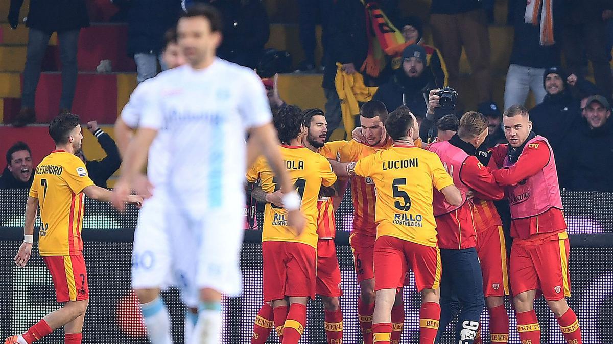 Benevento Finally Win After Worst Ever Serie A Start As Com