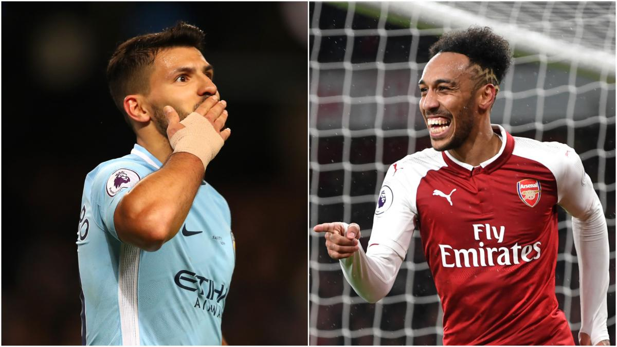 Where do Agüero and Aubameyang rank among Europe's elite
