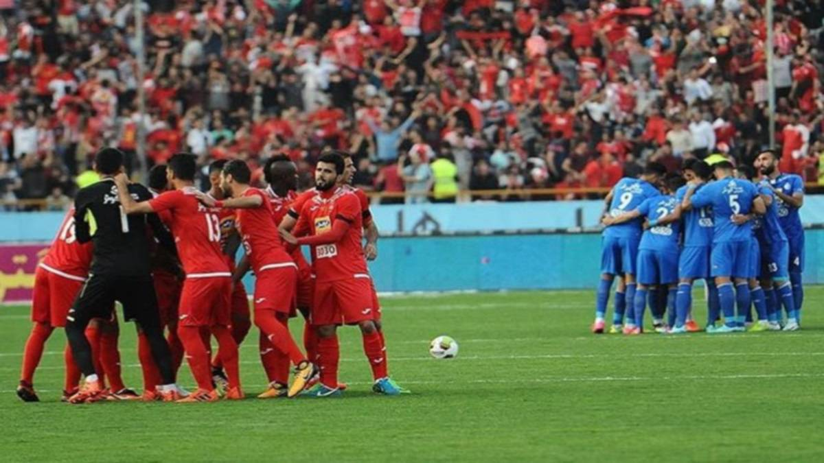 Esteghlal Vs Persepolis Goals Match Report As Com