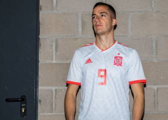 new product 40bc3 91a9a Spain line out in 'lucky' away strip against Portugal - AS.com