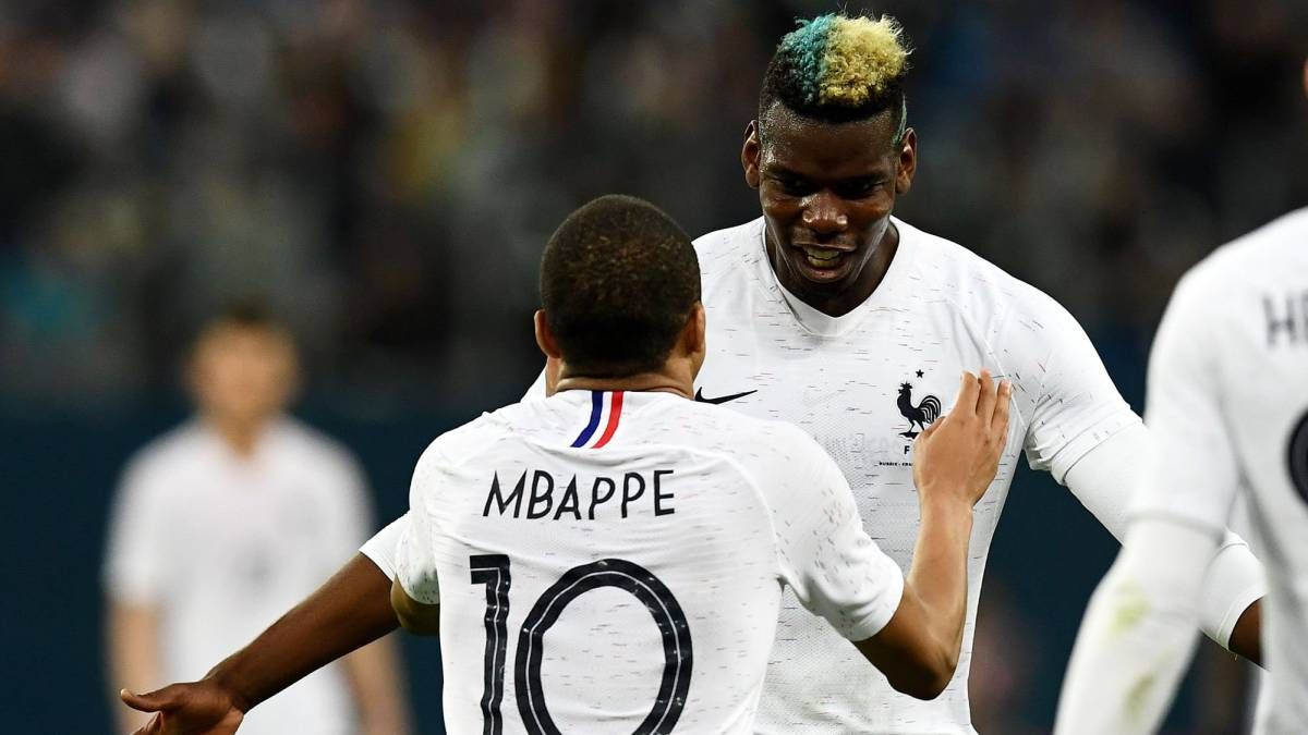 separation shoes 2488a 6074e Pogba & Mbappe record France firsts - AS.com
