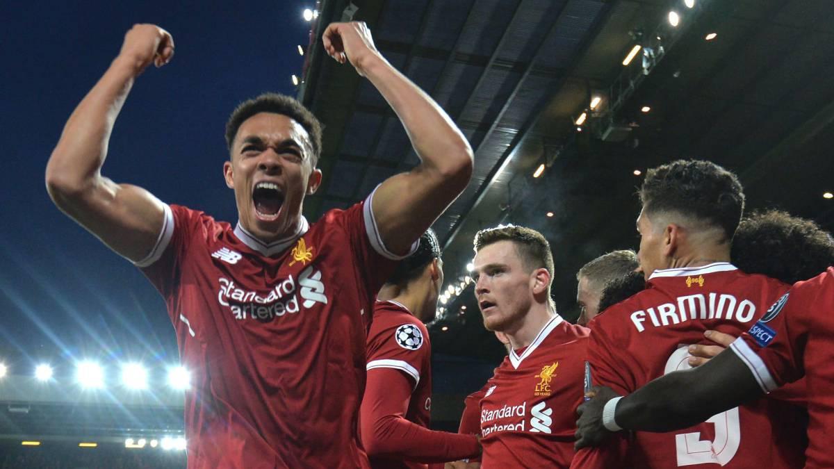 Liverpool 3 0 Manchester City Champions League Goals