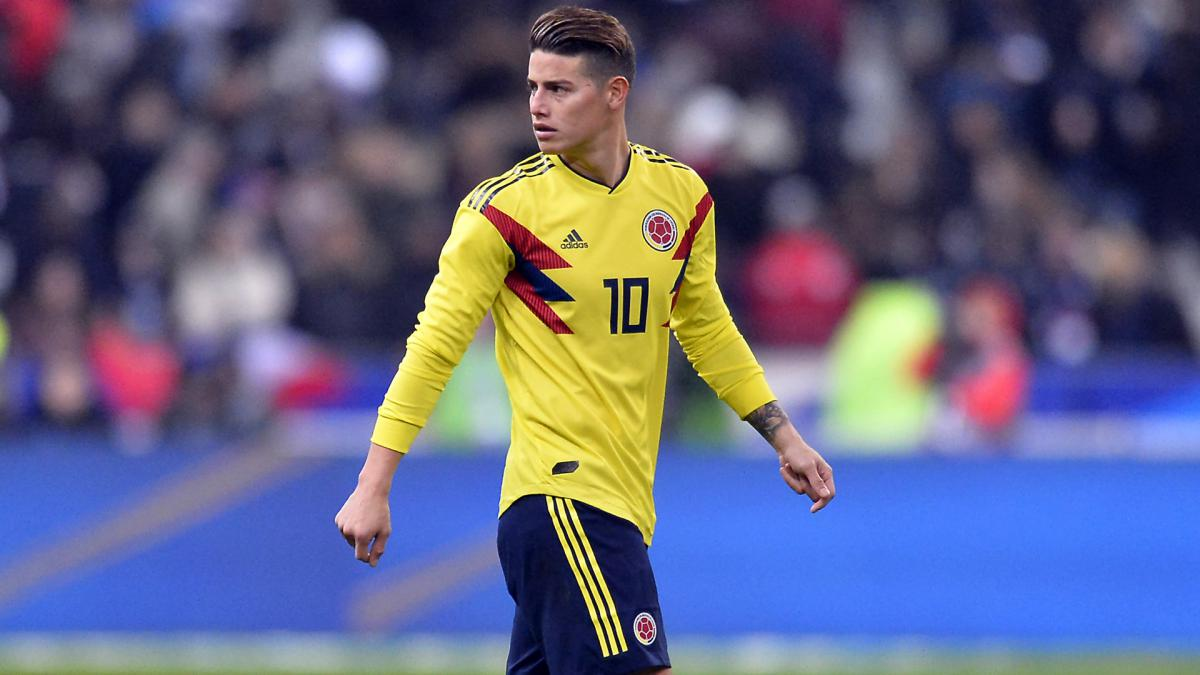 the best attitude d119e 49270 2018 World Cup | James: Colombia eyeing at least World Cup ...