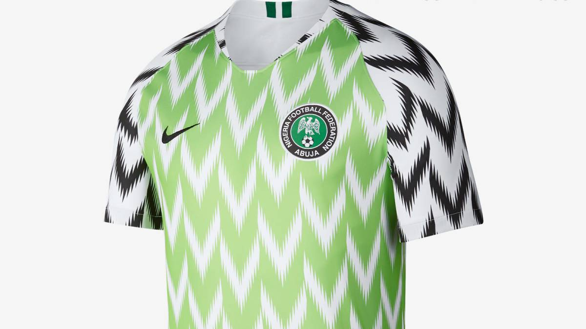 the latest 73db7 22f7e Nigeria World Cup jersey breaks record with three million ...