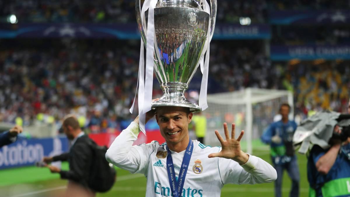 Ronaldo Wins His Fifth Champions League Trophy As Com