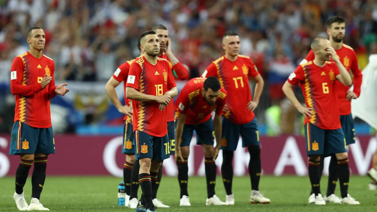 Spain 1 1 Russia World Cup 2018 Last 16 Match Hosts Win On