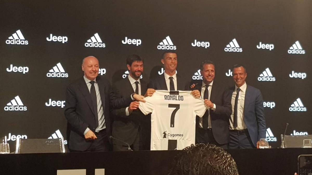 best website 162eb 3f5fb Cristiano Ronaldo Juventus press conference: live - AS.com
