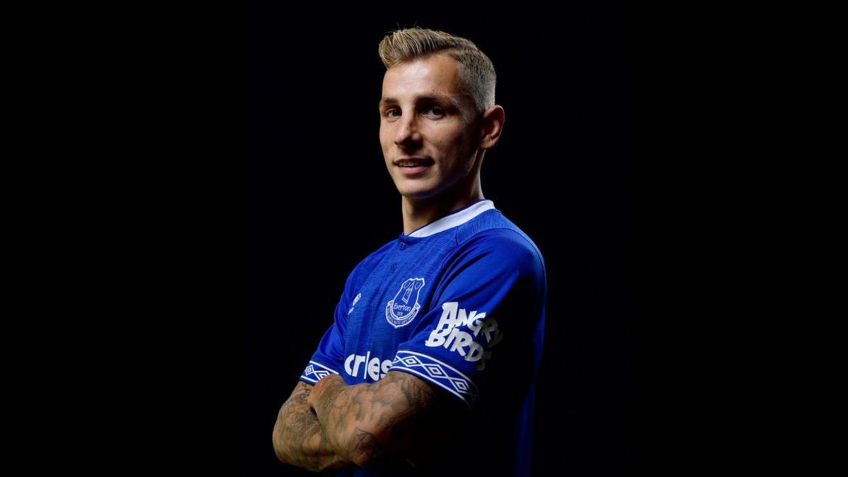 Lucas Digne Leaves Barcelona And Completes Everton Move As Com