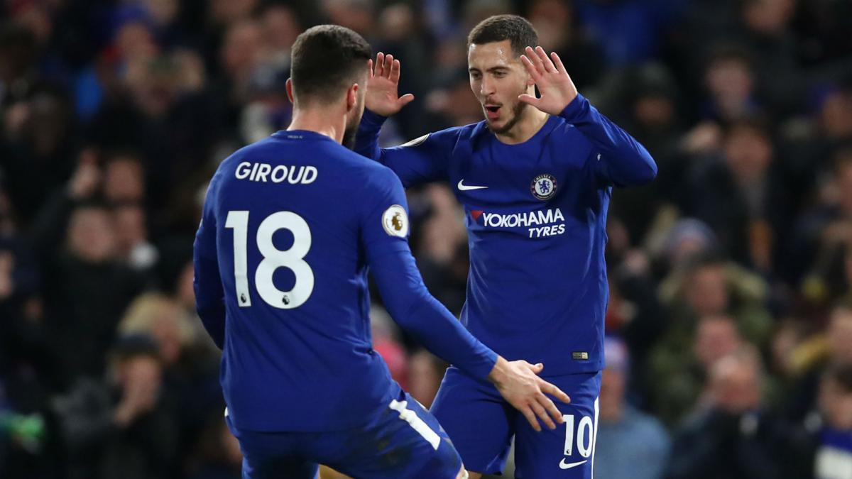 new product 05629 a8cb9 Chelsea's Giroud keen on 'special' Hazard stay - AS.com