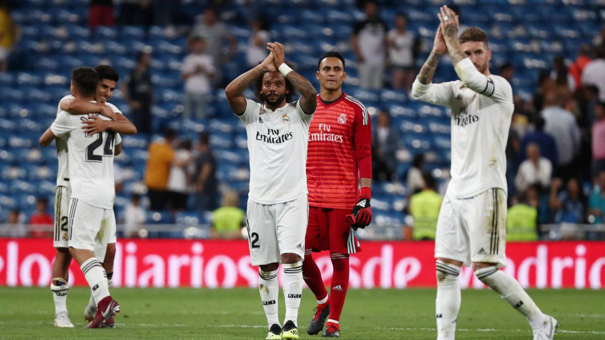 Lowest Liga Attendance At Bernabeu In 10 Years As Com