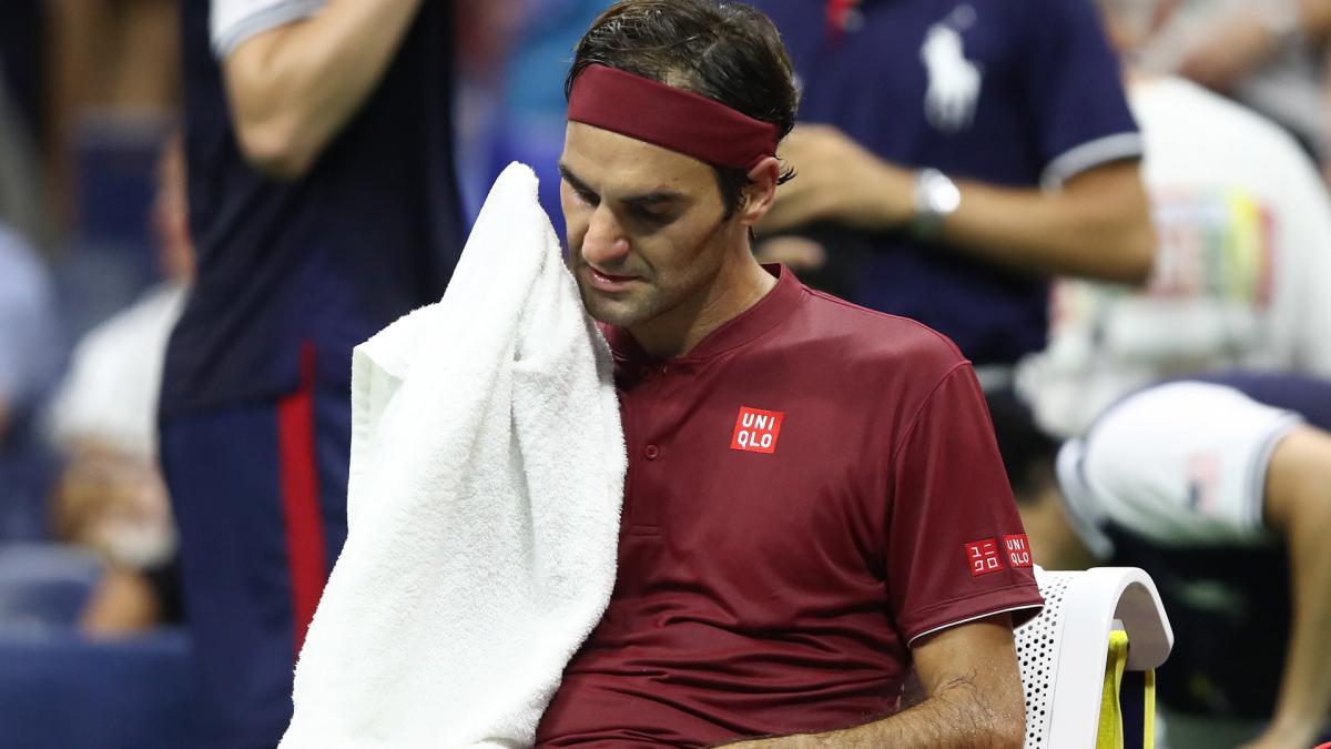 Campagna cintura Scongelare, scongelare, scongelare  I couldn't get air – Federer admits to struggles in US Open heat - AS.com
