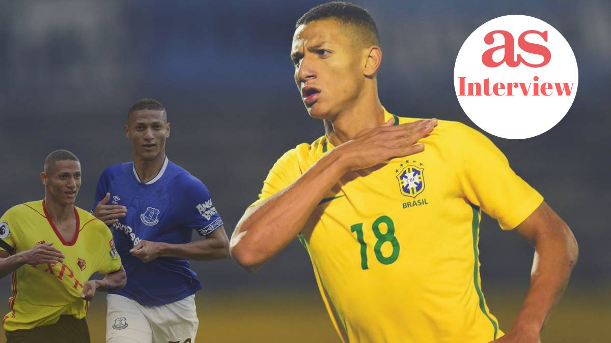 """save off 92a33 1d9bf Richarlison de Andrade interview: """"I sold sweets and ice ..."""