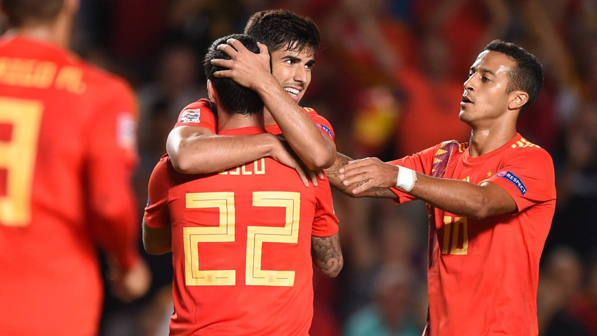 Spain Croatia Match Report Uefa Nations League As Com