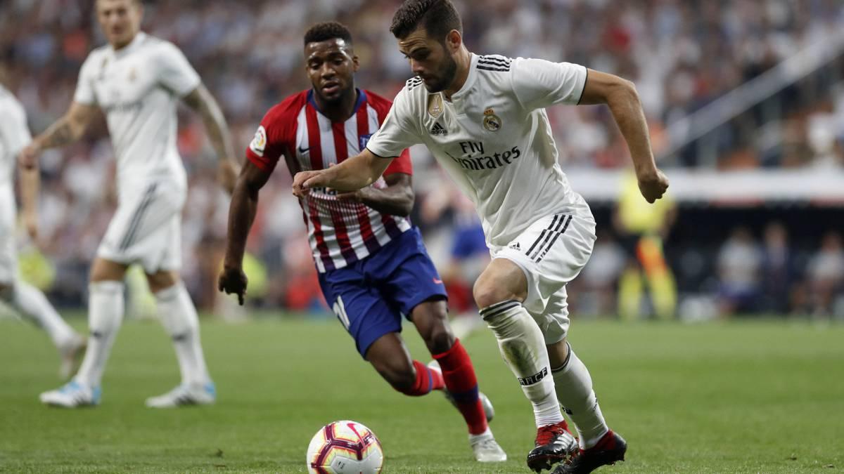 نتيجة بحث الصور عن Real Madrid and Atletico Madrid