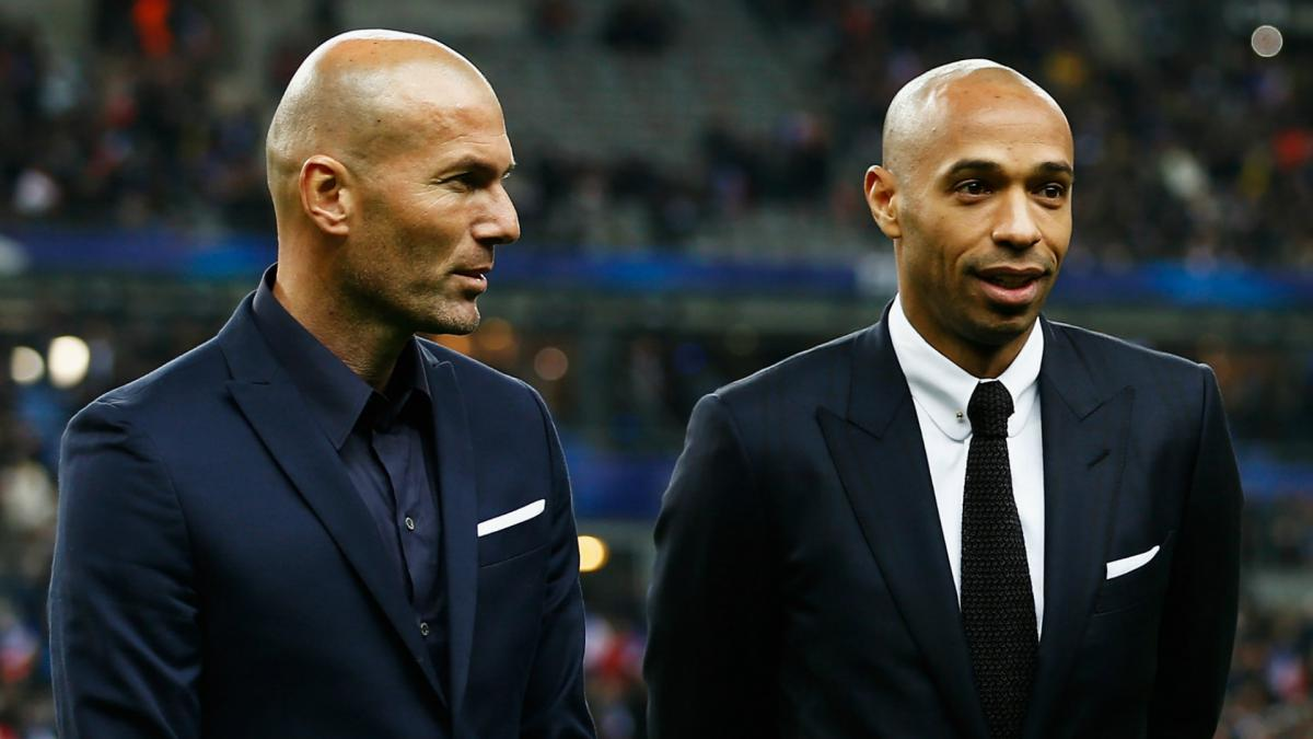 Henry Zidane And The Other France 98 Stars In Management As Com