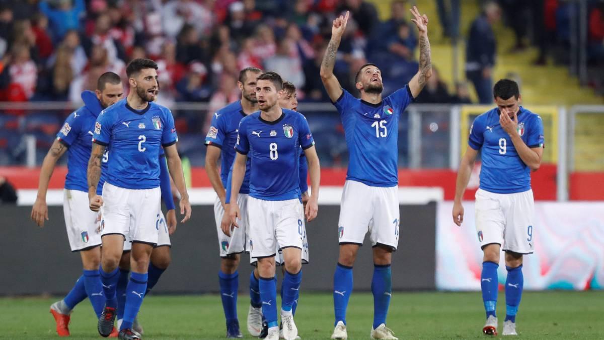 Poland 0 1 Italy Uefa Nations League Match Report As Com