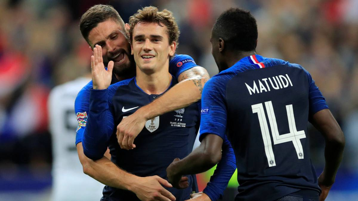 France 2-1 Germany match report: UEFA Nations League - AS.com