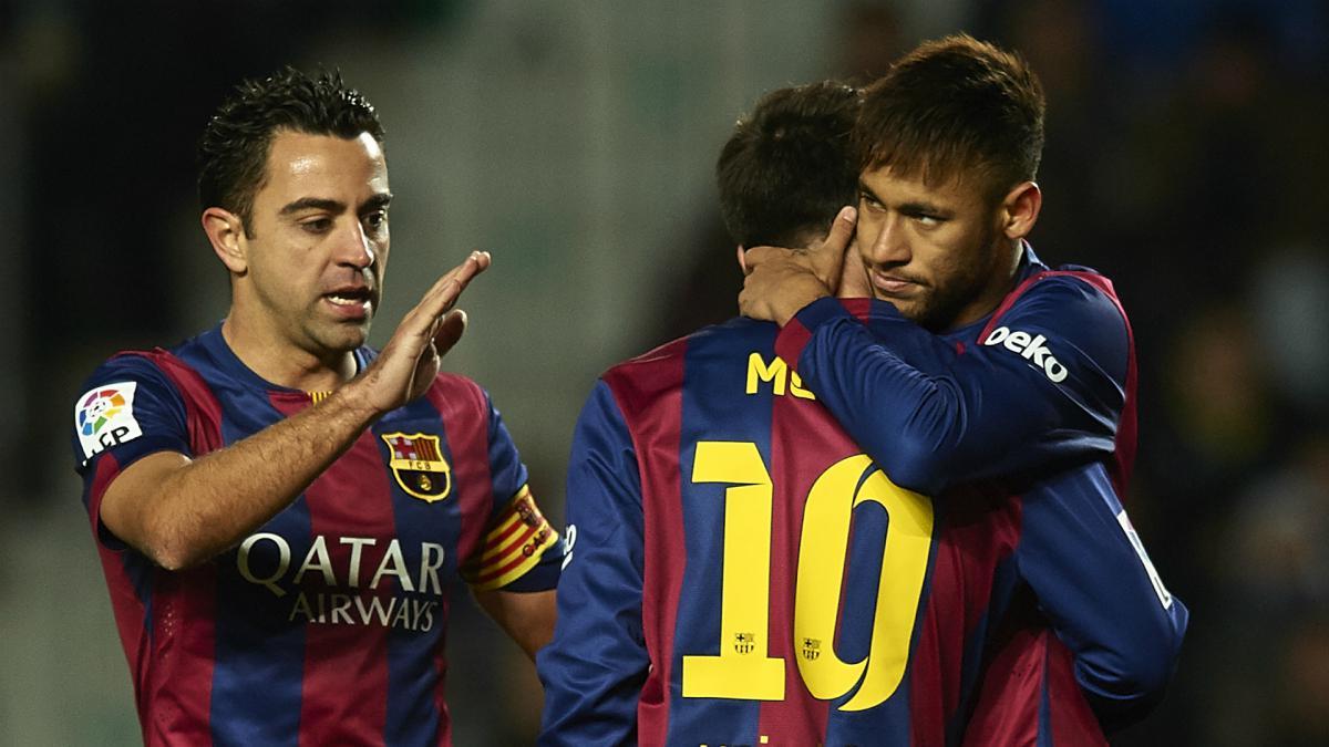 Neymar Needs To Mature To Reach Messi Levels Xavi As Com