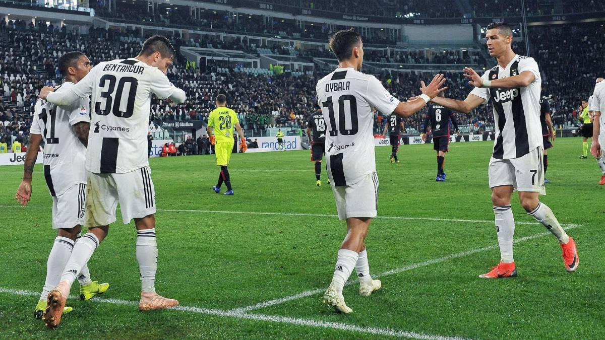 Juventus Cagliari Serie A Week Result Report AS com