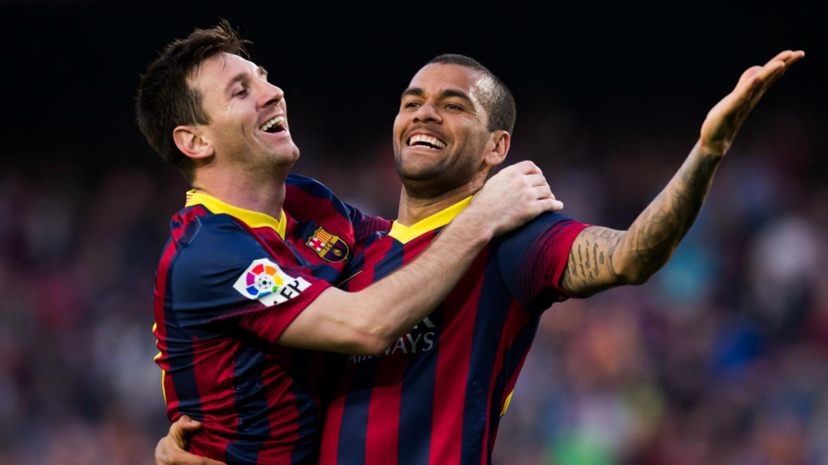 "Dani Alves: ""Messi and me connected immediately"" - AS.com"