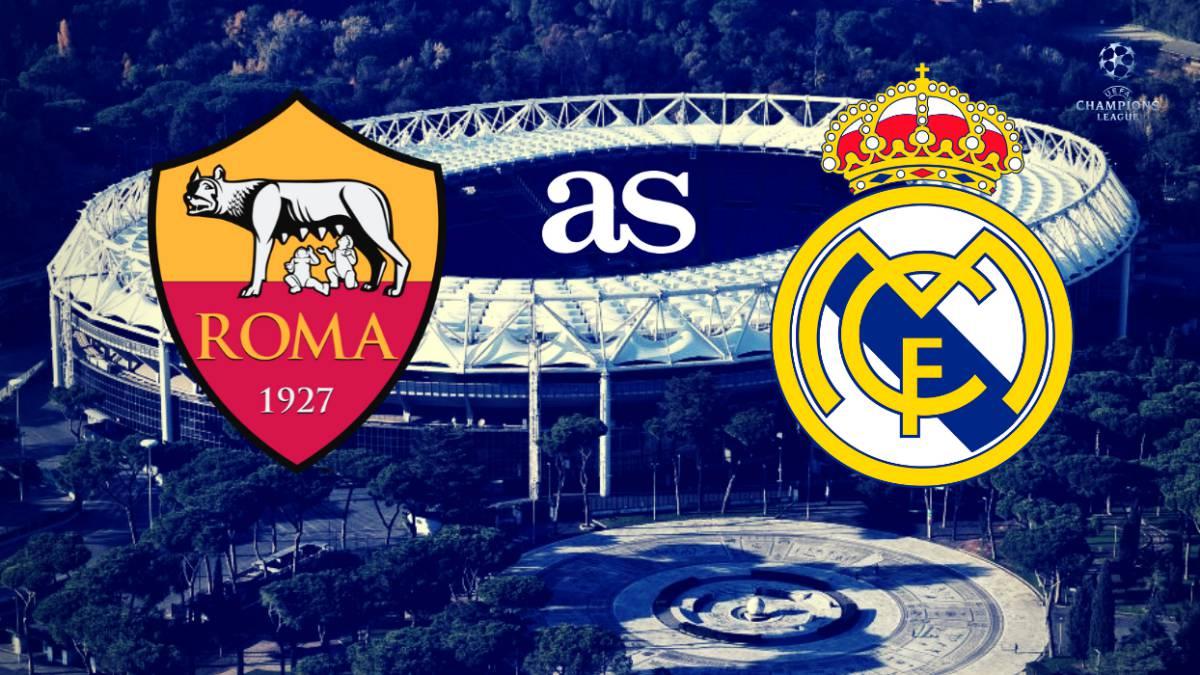 ملخص مباراة روما ضد ريال مدريد